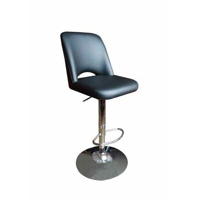 Manwe Bar Stool Upholstery: Black