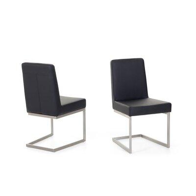 Genesis Side Chair (Set of 2) Color: Black