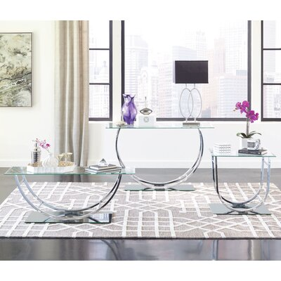 Kegan 3 Piece Coffee Table Set