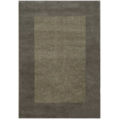 Choncey Gray/Brown Area Rug Rug Size: 33 x 55