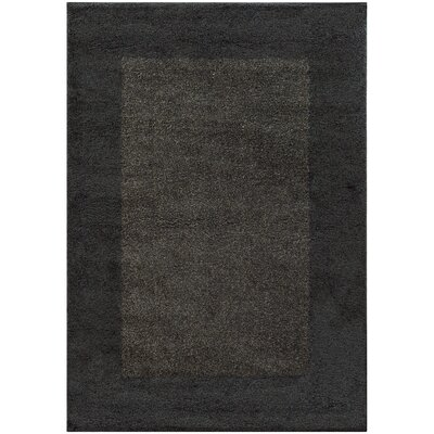 Choncey Black/Gray Area Rug Rug Size: Rectangle 53 x 76