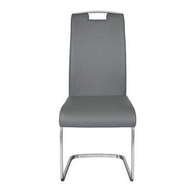 Beehler Side Chair (Set of 2) Upholstery: Gray