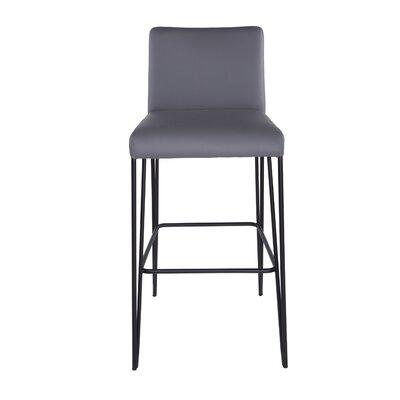 Ann 30 Bar Stool Upholstery: Dark Gray