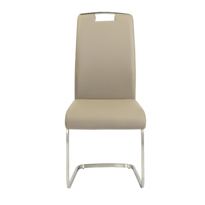 Beehler Side Chair (Set of 4) Upholstery: Taupe