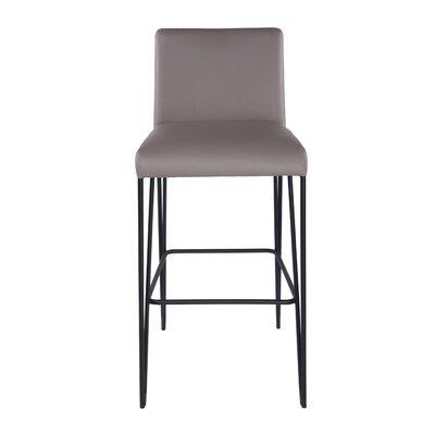 Arnette 30 Bar Stool Upholstery: Taupe