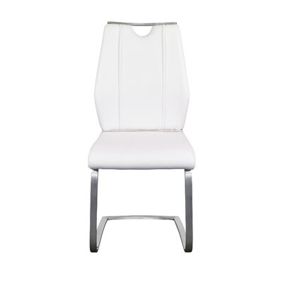 Babin Side Chair (Set of 2) Color: White