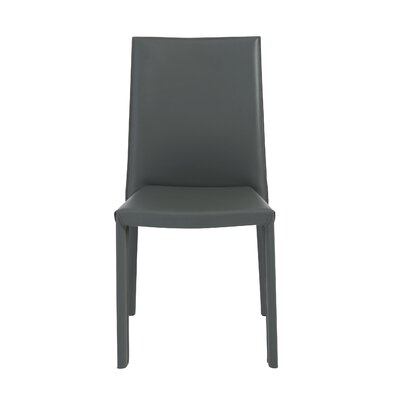 Arevalo Side Chair (Set of 4) Upholstery: Gray