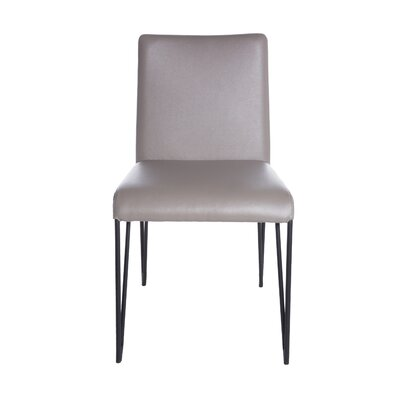 Ann Side Chair (Set of 2) Upholstery: Taupe