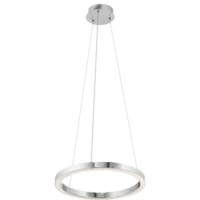 Artesian 1-Light Geometric Pendant