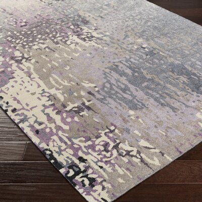 Vaughn Gray Area Rug Rug Size: Rectangle 5 x 8