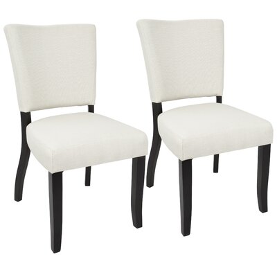 Tuyet Side Chair Upholstery: Cream