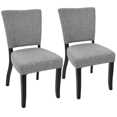Tuyet Side Chair Upholstery: Light Gray
