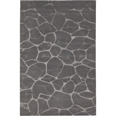 Ximena Flagstone Hand-Knotted Gray Area Rug