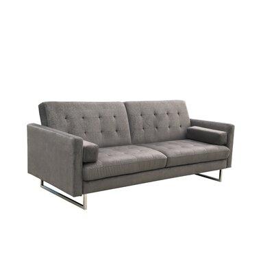 Kylee Convertible Sofa Upholstery: Gray
