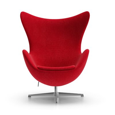 Alexia Arm Chair Upholstery: Gabriel DK Fabric Red