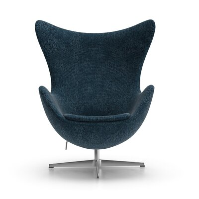 Alexia Arm Chair Upholstery: Gabriel DK Fabric Blue