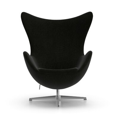 Alexia Arm Chair Upholstery: Gabriel DK Fabric Black