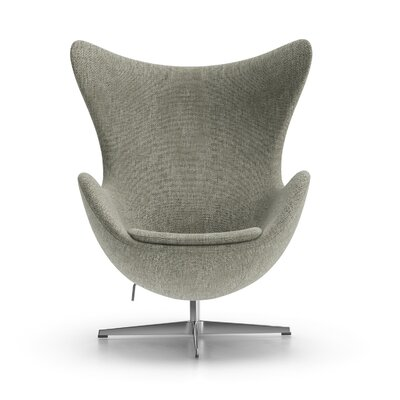 Alexia Arm Chair Upholstery: Gabriel DK Fabric Gray