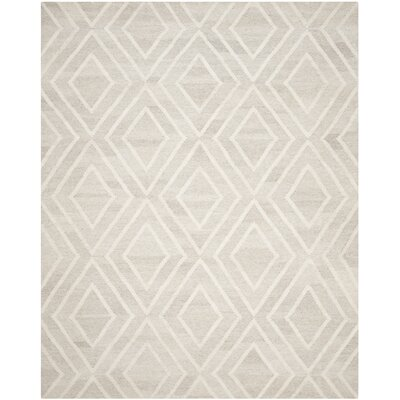 Mata Kilim Hand-Woven Ivory Area Rug Rug Size: Rectangle 8 x 10