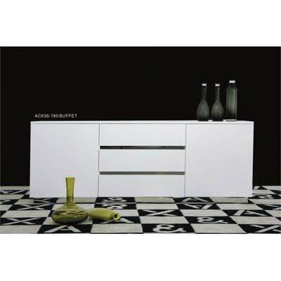 Carnahan Crocodile Lacquer Sideboard