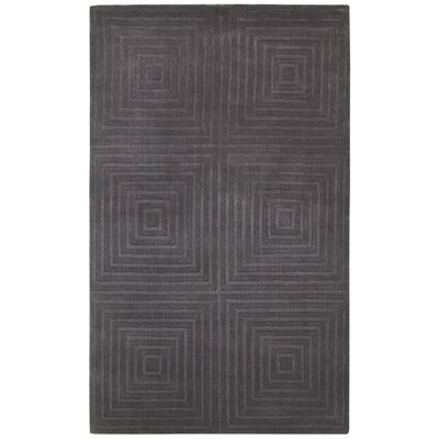 Amparo Hand-Loomed Brown Area Rug Rug Size: 5 x 8