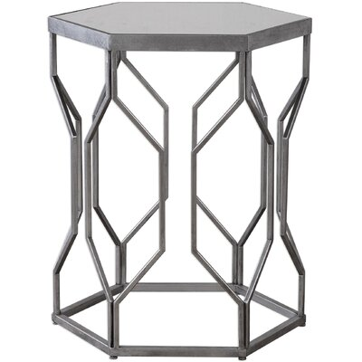 Kathryn Iron End Table