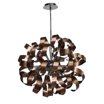 Juliet Pendant Finish: Brushed Copper