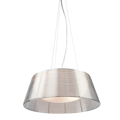Efimov Drum Pendant Finish: Silver