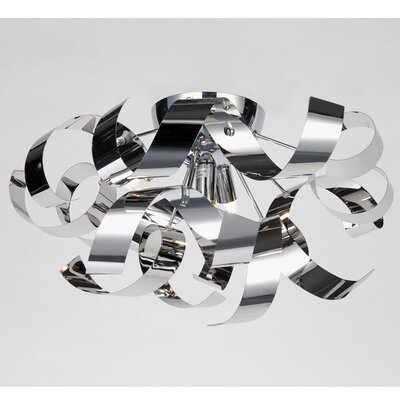 Juliet Flush Mount Finish: Chrome
