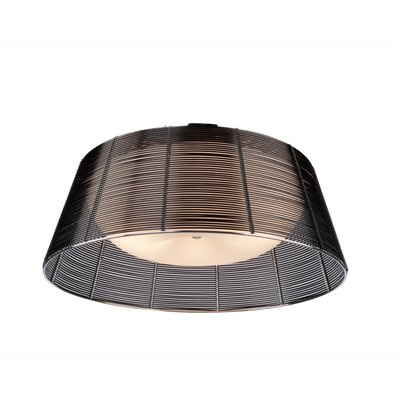 Efimov Flush Mount Finish: Black