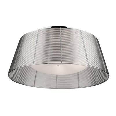 Efimov Flush Mount Finish: Silver