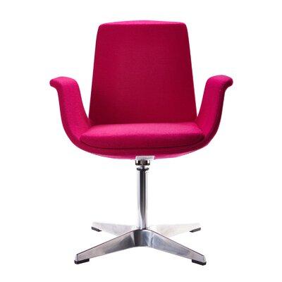 Barney Modern Armchair Upholstery: Fuchsia
