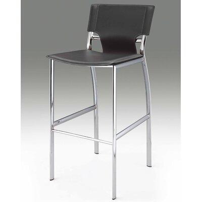Loren 25.2 Bar Stool (Set of 2) Upholstery: Gray