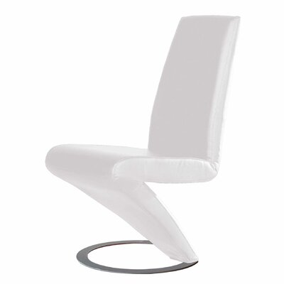 Barnes Parsons Chair (Set of 2) Upholstery: White