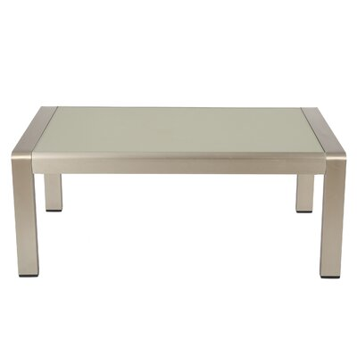Kit Outdoor Aluminum Coffee Table