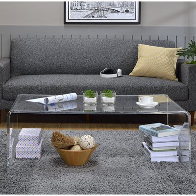 Brantlee Acrylic Tall Coffee Table