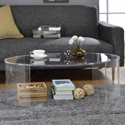 Chartier Oval Coffee Table