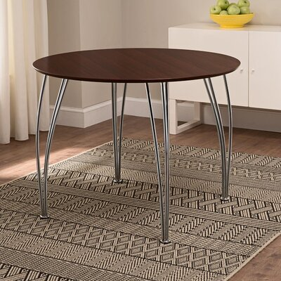 Bentwood Round Dining Table Top Finish: Espresso