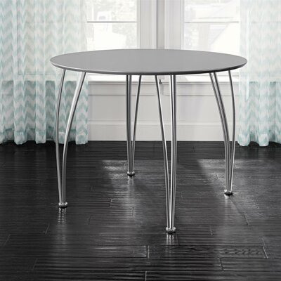 Bentwood Round Dining Table Top Finish: Gray