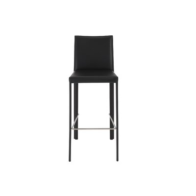Bergenfield 30 Bar Stool Finish: Black