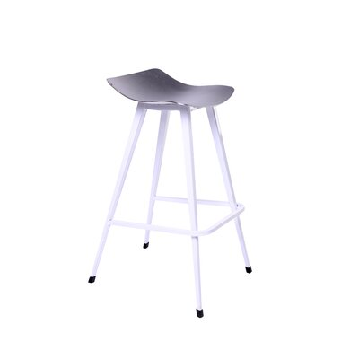 Malaya 30.7 Bar Stool Finish: White