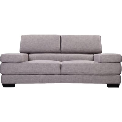 Azalea Reclining Sofa Upholstery: Grey Tweed