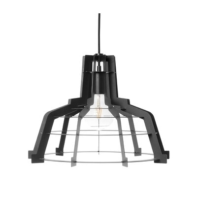 Shiloh 1-Light Inverted Pendant Size: 12.5 H x 14.25 W x 14.25 D