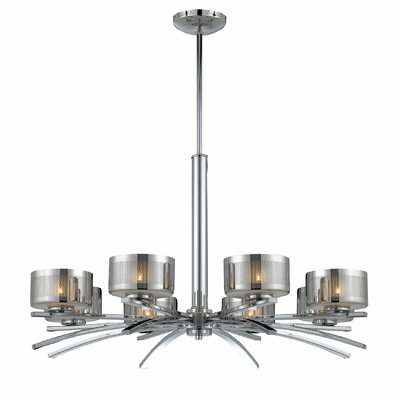 Amiya 8-Light Drum Chandelier