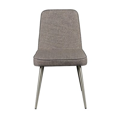 Jaylee Side Chair (Set of 2) Finish: Brushed Silver