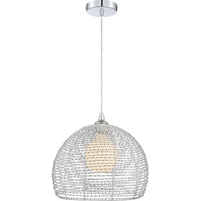 Papadopoulos 1-Light Crystal Pendant