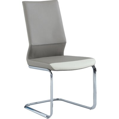 Keyshawn Contemporary Side Chair (Set of 2) Finish: Taupe
