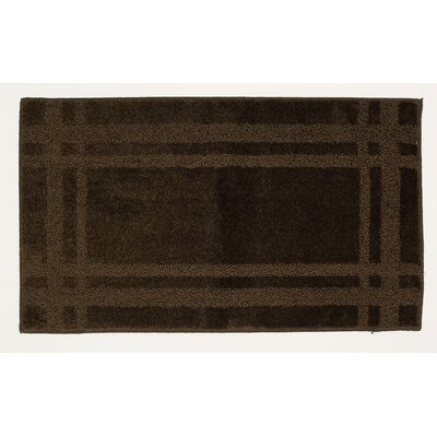 Steelton Brown Area Rug Rug Size: 26 x 310