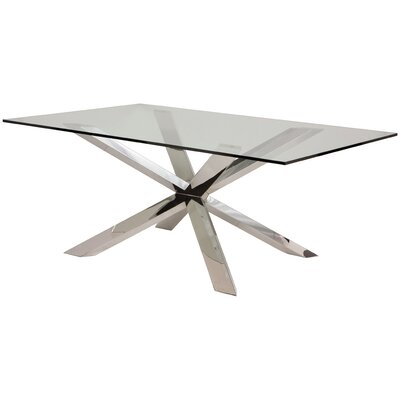Boler Glass Top Dining Table