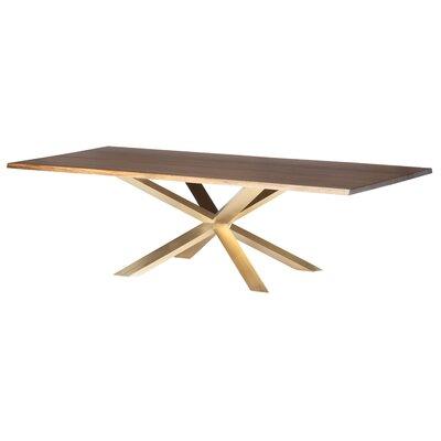 Boler Wood Top Dining Table